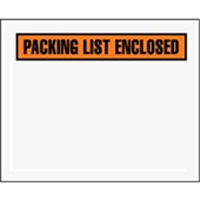 7 X 5 1/2″ Panel Face Packing List Envelope (1000/Case)