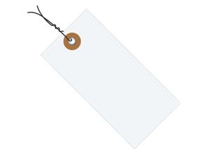 #4 4 1/4″ X 2 1/8″ Tyvek® Shipping Tags – Pre-wired (1000/case)