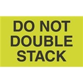 #DL2261  3 X 5″  Do Not  Double Stack Label