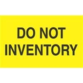 #DL2281  3 X 5″  Do Not Inventory Label