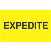 "#DL2381  3 X 5″  ""Expedite"" Label"