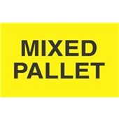 #DL2481  3 X 5″  Mixed Pallet Label