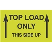 #DL2701  3 X 5″  Top Load Only Label This Side Up (Arrows)