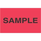 "#DL2781  3 X 5″  ""Sample"" Label"