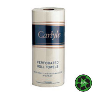 FINAL SALE: Carlyle® Kitchen Roll Towels – 85 Towels/Roll (30 Rolls/cs)