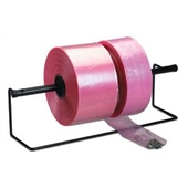 8″ X 500` 6 Mil Pink Heavy-Duty Anti-Static Poly Tubing