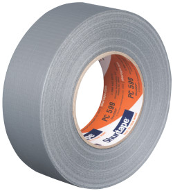 2″ X 60 Yds. (48mm X 55m) 9 Mil Silver Cloth Duct Tape (24/Case)