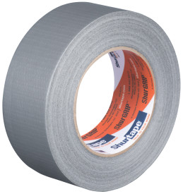 3″ X 60 Yds. (72mm X 55m) 6 Mil Silver Cloth Duct Tape (16/Case)